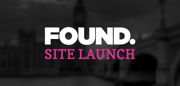 The New Found Site Launch