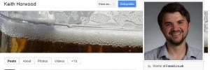 Keith Horwood Google Plus