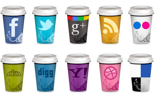 Social media coffee