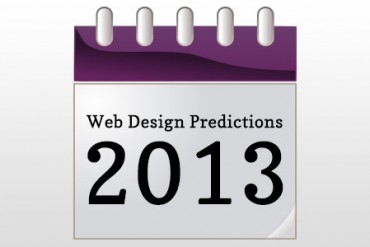 Web Design Predictions for 2013