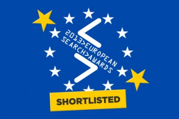 Found shortlisted for innovation at 2013 European Search Awards