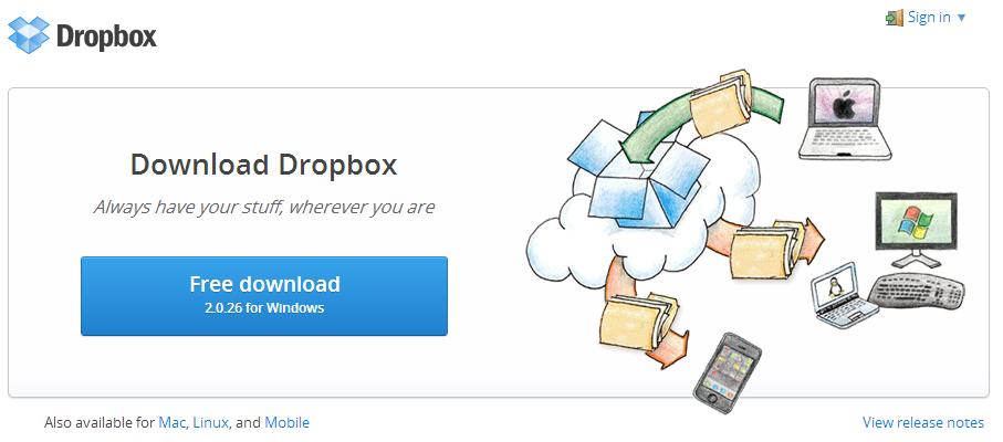 Dropbox Cloud Server