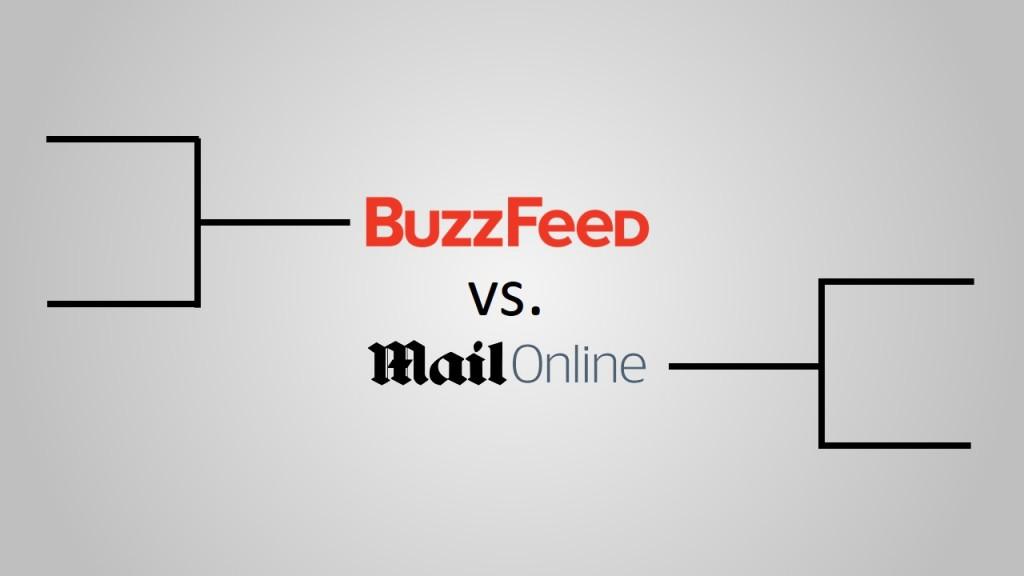 BuzzFeed vs MailOnline