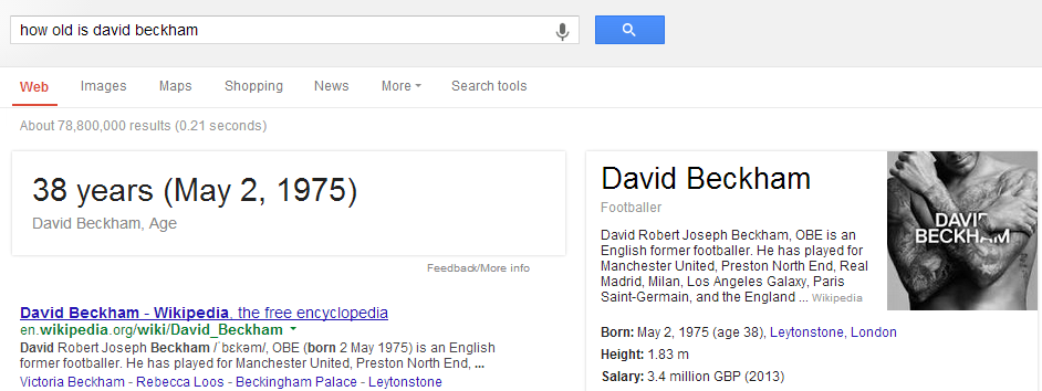 How old is David Beckham