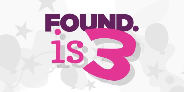 Found is 3