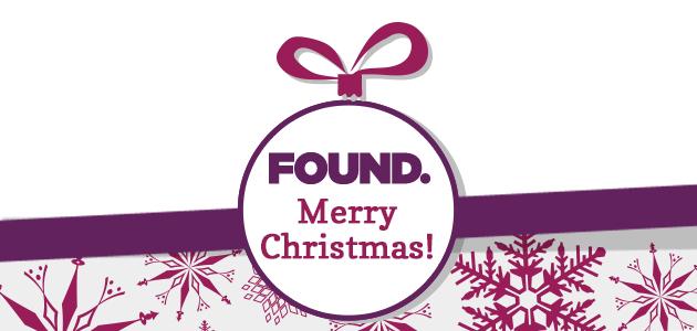 Found Christmas