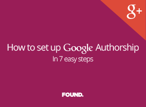 How to set up Google Authorship