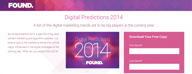 2014 digital predictions