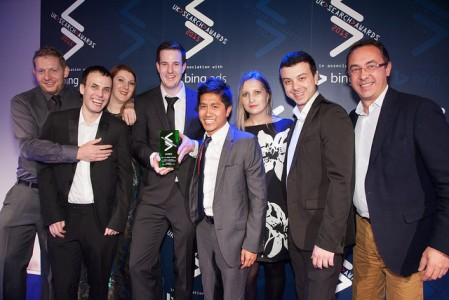 UK Search Award 2015
