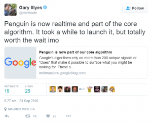 Gary Ilyes from Google announces Penguin 4.0