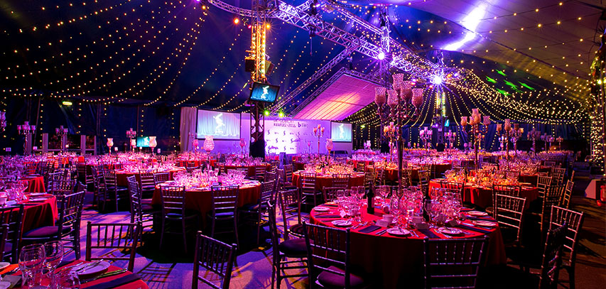 UK search awards marquee