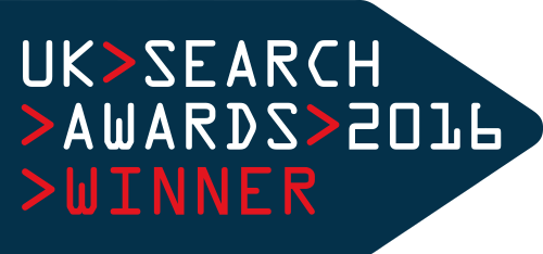 UK Search awards winner 2016