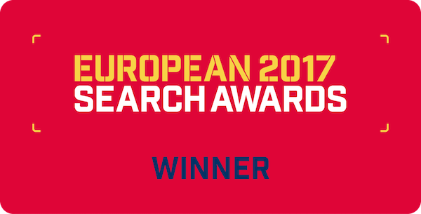 EU Search Award Winner 2017
