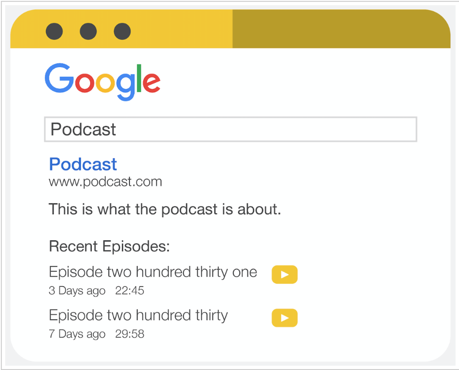 podcast snippet structure