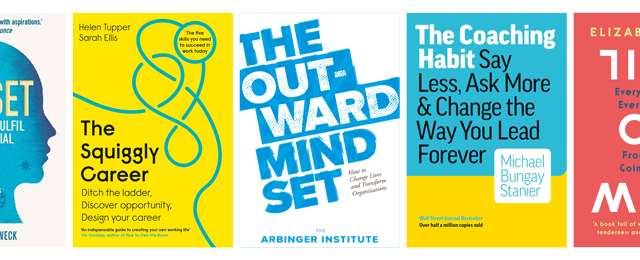 5 BOOKS TO GET YOU INTO A GROWTH MINDSET